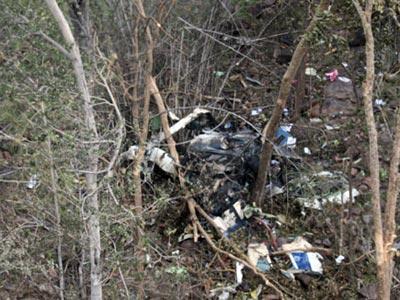 ysr crash photos 1