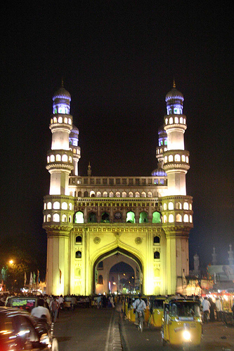 charminar night view