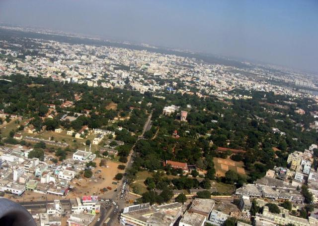 hyderabadaerialview