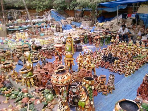idols sold in shilparamam