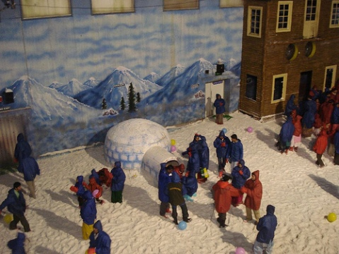 inside snow world
