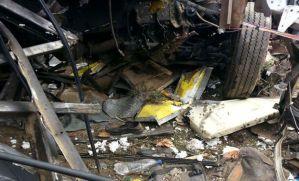 Train hits school bus in medak